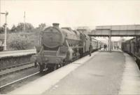 5P 4.6.0 45460 on Wick train. Muir of Ord Junction.<br><br>[G H Robin collection by courtesy of the Mitchell Library, Glasgow&nbsp;01/07/1950]