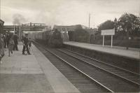 5P 4.6.0 on Tain-Inverness local (45477). Muir of Ord Junction.<br><br>[G H Robin collection by courtesy of the Mitchell Library, Glasgow&nbsp;01/07/1950]