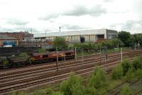 Coal empties pass Larkfield Junction heading west.<br><br>[Ewan Crawford&nbsp;20/06/2006]