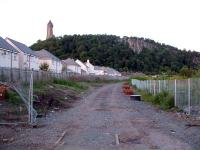 The Wallace Monument looks down on the site of Causewayhead station.<br><br>[Ewan Crawford&nbsp;01/07/2006]
