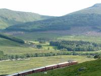 The Royal Scotsman heads for Bridge of Orchy off the Horseshoe Curve.<br><br>[Ewan Crawford&nbsp;01/07/2006]