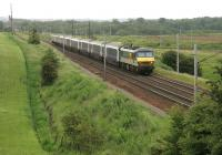 Glasgow portion of the <I>Lowland</I> Sleeper passing Ravenstruther on 11 July 2006. Locomotive is 90022.<br><br>[John Furnevel&nbsp;11/07/2006]