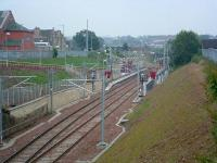 Larkhall, slightly more than six months after opening. Grass begins to grow on the  embankments.<br><br>[Ewan Crawford&nbsp;03/07/2006]