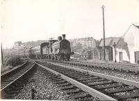 C.R. 18.5 0.6.0 57555 on Kirkhill train. Cathcart North Junction.<br><br>[G H Robin collection by courtesy of the Mitchell Library, Glasgow&nbsp;28/08/1957]