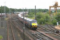 A GNER Edinburgh - Kings Cross service southbound on the ECML at Portobello in July 2006.<br><br>[John Furnevel&nbsp;09/07/2006]