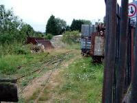 The Bromyard and Linton Light Railway occupying the trackbed of the former Worcester Bromyard and Leominster Railway. View looks east from the terminus.<br><br>[Ewan Crawford&nbsp;10/07/2006]