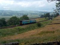 Leeds bound Sprinter approaches Hellifield from the west.<br><br>[Ewan Crawford&nbsp;10/07/2006]