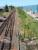 Steps down to the northern ticket platform. The Highland shed was to the left. Looking north.<br><br>[Ewan Crawford&nbsp;13/07/2003]